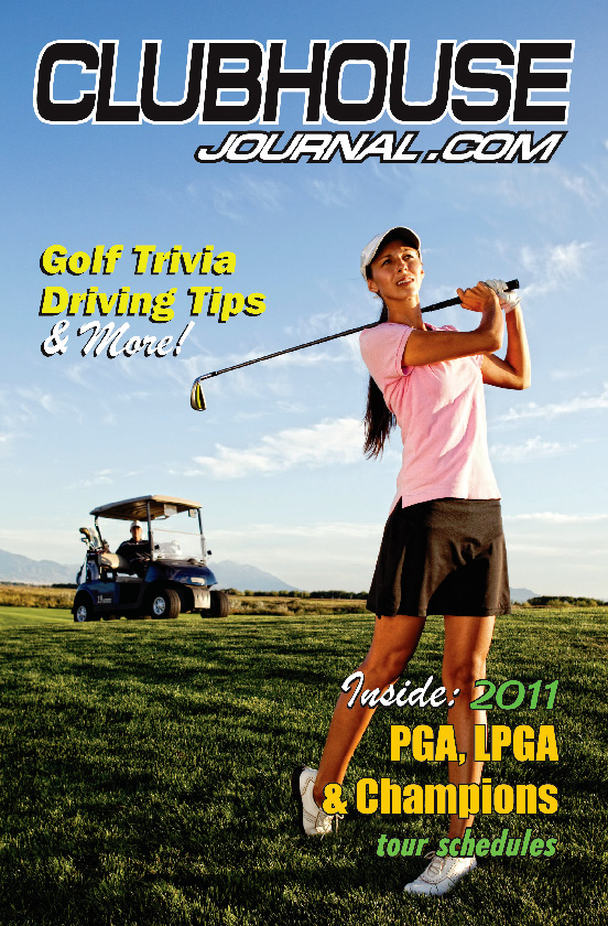 Club House Journal Magazine for Golf Sports Enthusiasts